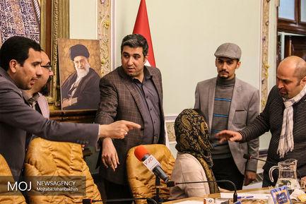 نشست خبری نمایشگاه عکس ورلدپرس فوتو در اصفهان