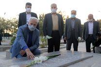 تجدید میثاق شهردار جدید اصفهان با شهدا در اولین روز کاری؛