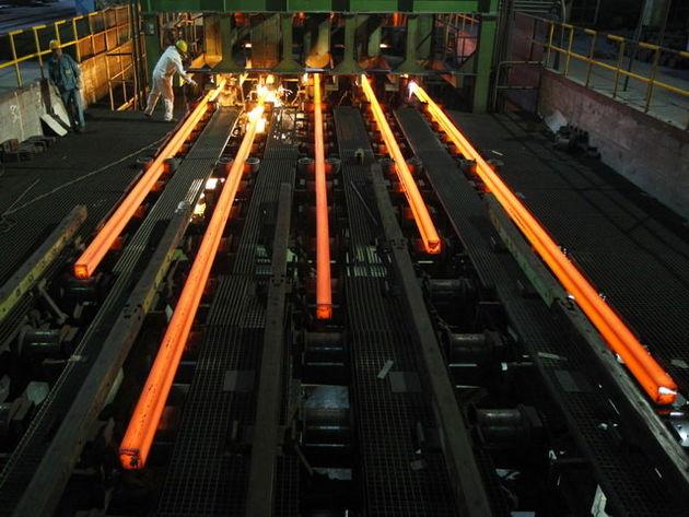افزایش تولید فولاد ایران در سال ۲۰۱۷