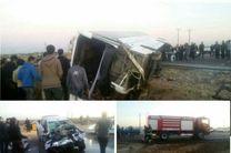 تصادف مرگبار در سوسنگرد/4 دانش آموز کرجی فوت کردند