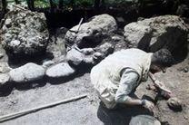 کشف «گورهای دخمه ای» در گورستان باستانی «اسب ریسه»