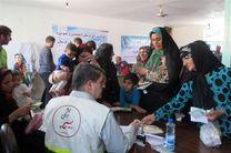 اعزام گروه جهادی پزشکان بسیجی از اصفهان به مناطق سیل زده در لرستان