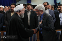 دیدار اعضای فراکسیون امید مجلس با رییس جمهور