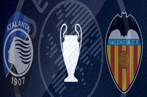 پخش زنده بازی آتالانتا و والنسیا از شبکه ورزش