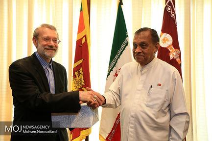 سفر علی لاریجانی به سریلانکا