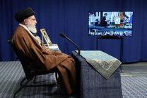 ارتباط تصویری هفت مجموعه تولیدی با رهبر معظم انقلاب اسلامی