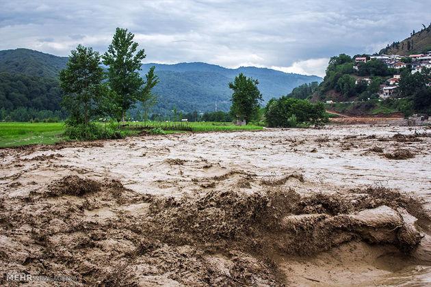 احتمال وقوع سیلاب در ارتفاعات مازندران