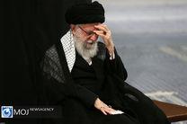 مراسم عزاداری شب عاشورای حسینی (ع) با حضور رهبر انقلاب برگزار شد