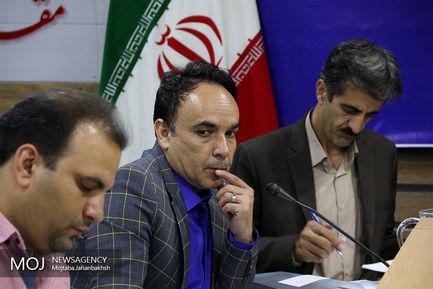 نشست خبری مدیرکل راهداری و حمل و نقل استان اصفهان