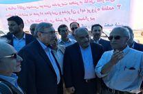 بازدید مشاور رییس جمهور از دو طرح مشارکتی سازمان منطقه آزاد قشم در شهر درگهان