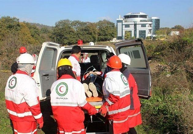 اجرا شدن مانور جستجو و نجات شهری با رویکرد زلزله در گرگان