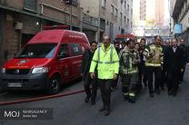 ریزش ساختمان برق وزارت نیرو هنوز احتمال دارد
