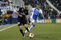 ساعت بازی رئال مادرید و لگانس مشخص شد