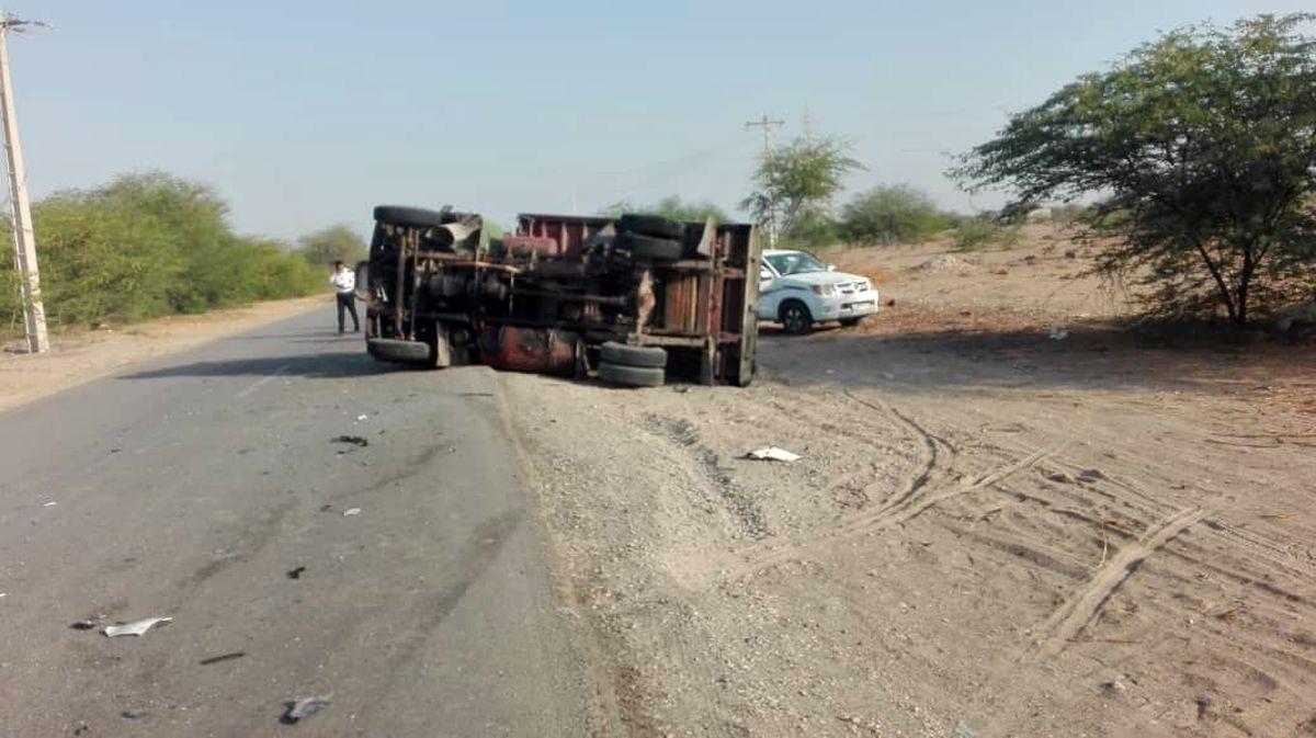 4 زخمی و 2 فوتی تصادف  در جاده نهاوند- کنگاور