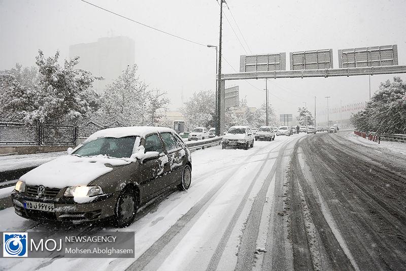 آخرین وضعیت جوی و ترافیکی جاده ها در ۲۳ دی مشخص شد