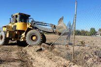 رفع تصرف 3.5 هکتار از اراضی کشاورزی در طالقان