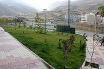 سال گذشته 13 هزار متر مربع فضای سبز در سطح منطقه یک سنندج احداث شد