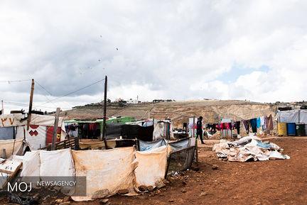 پناهندگان سوری در لبنان