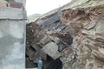 رانش زمین در رامسر  10 باب منزل مسکونی را تخریب کرد