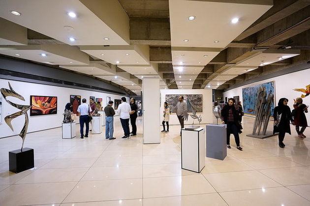 تمدید نمایشگاه «رویکردها و گرایشها در هنر معاصر ایران»