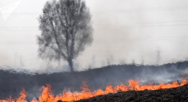انفجار انبار مهمات روسیه در سیبری/آمادگی برای تخلیه 100هزار نفری