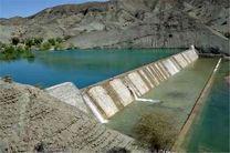 سازههای آبخیزداری در بشاگرد آبگیری شد