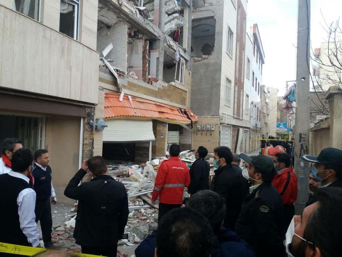 انفجار مهیب گاز در یک خانه مسکونی در اردبیل حادثه آفرید