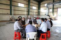 جمعی از مدیران شهرداری از پشتصحنه مسابقه تلویزیونی محیا بازدید کردند