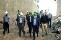 فرمانده قرارگاه خاتمالانبیا(ص) از پروژه مترو قم بازدید کرد