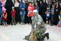 اجرا نمایش مدافعان حرم در بندرعباس