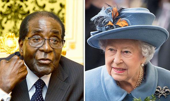 ملکه انگلیس در رقابت با موگابه پیروز شد