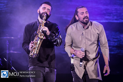 کنسرت امیرعباس گلاب در سالن میلاد نمایشگاه بین المللی تهران
