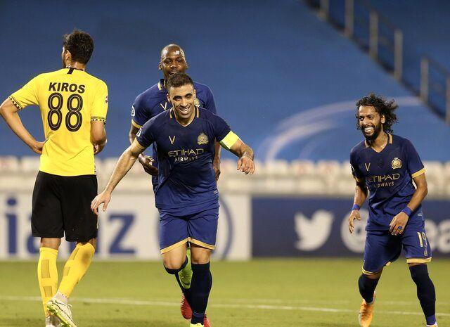 نتیجه بازی سپاهان و النصرعربستان/ سپاهان 0  النصرعربستان 2