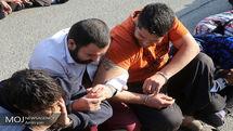 اجرای طرح ضربتی مبارزه با سرقت و دستگیری 8 سارق سابقه دار در میناب