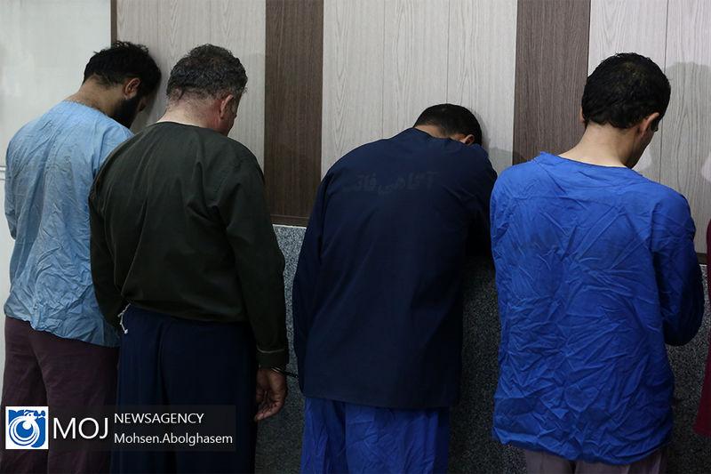 دستگیری اعضای باند سارق به عنف در پوشش زنانه