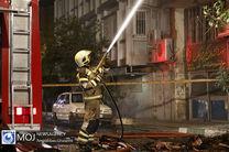 انفجار کپسول گاز در غرب تهران