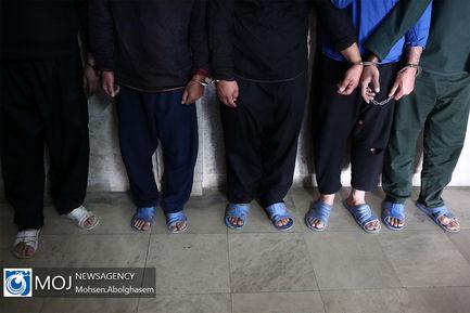دستگیری باند سارقین مامورنما از طایفه فیوج