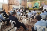 خادمان حرم بانوی کرامت با خدمات اورژانس اجتماعی آشنا شدند