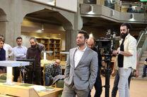 محمدرضا گلزار در پشت صحنه برنده باش