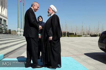 دیدار روسای جمهوری ایران و ترکیه