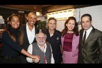 باراک اوباما به تئاتر برادوی بازگشت/ تماشای نمایشی از آرتور میلر