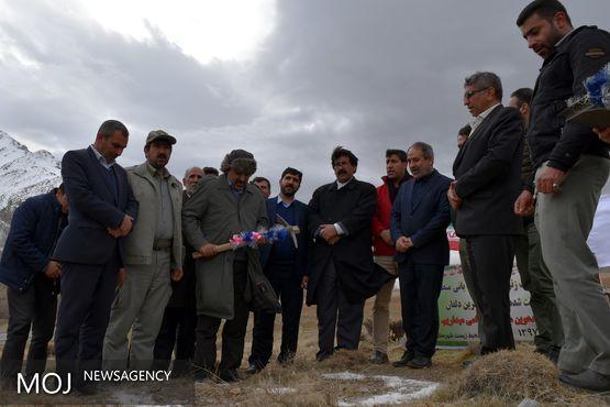 کلنگ احداث پاسگاه محیط بانی چهار شاخ گرین دلفان به زمین زده شد/افتتاح در سال 98