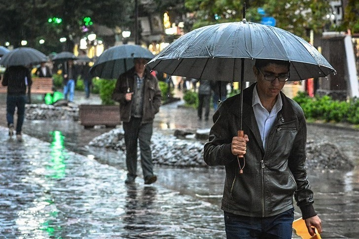 آخرین وضعیت بارشهای ایران اعلام شد/ کاهش بارش ها در استان های شمالی