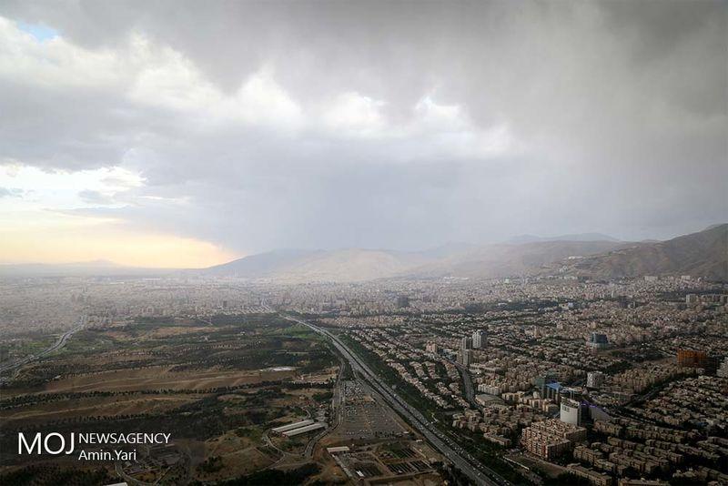 کیفیت هوای تهران در 29 مرداد ماه سالم است
