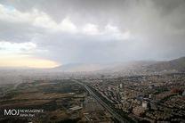 کیفیت هوای تهران در 30 تیر سالم است