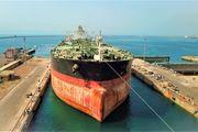 تعمیرات یک سوپر نفتکش 320 هزار تنی در ایزوایکو