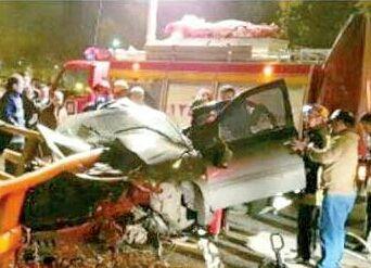 ۶۴۹ تصادف در روز برفی مشهد