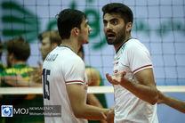 برنامه بازی های ایران در جام جهانی والیبال مشخص شد