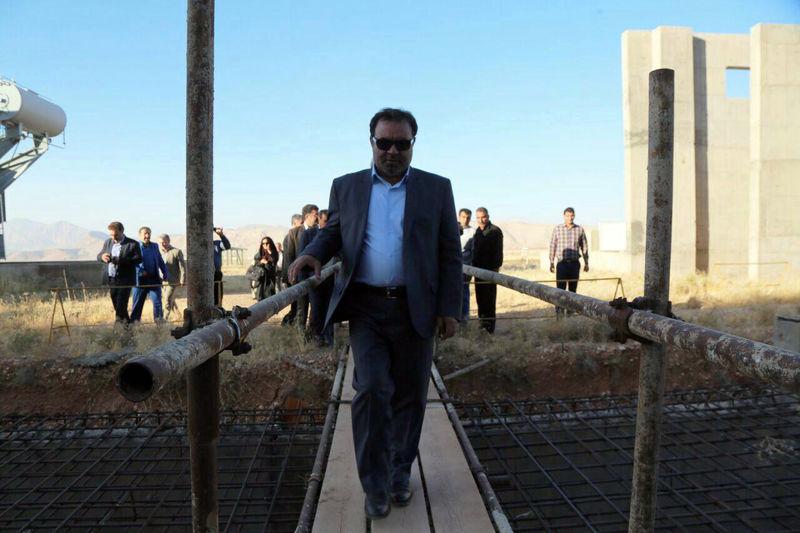 افتتاح چند پروژه در خرمآباد با حضور استاندار لرستان