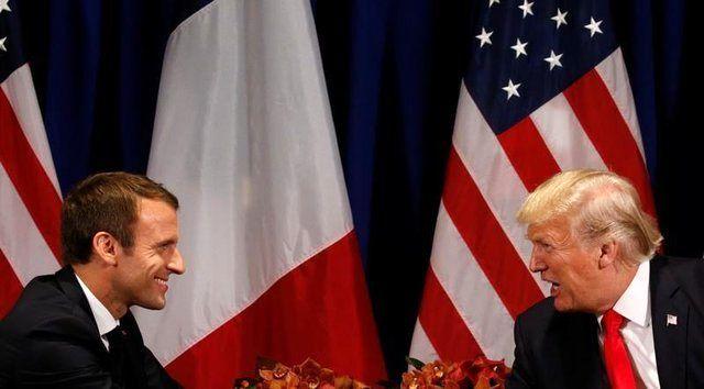 ماکرون و ترامپ درباره کره شمالی و ایران تلفنی گفتگو کردند